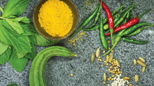 Indian and Pakistani spices and ingredients