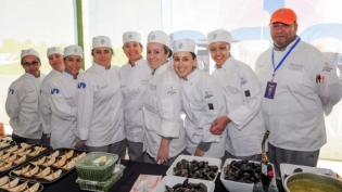 Culinary team at Coconut Grove Arts Festival